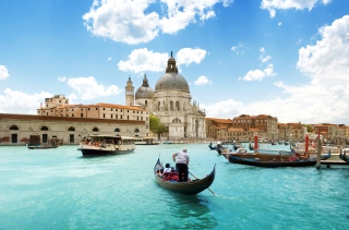 Venice Grand Canal Background for Android, iPhone and iPad