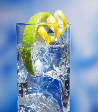 Cold Lemon Drink - Obrázkek zdarma pro Nokia C-Series