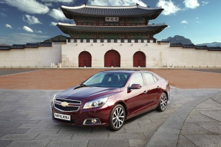 Chevrolet Malibu Sedan Background for Android, iPhone and iPad