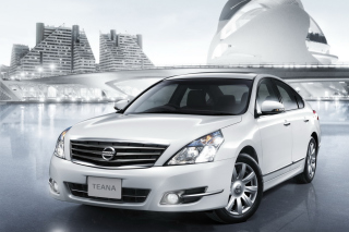 Free Nissan Teana Sedan Picture for Android, iPhone and iPad
