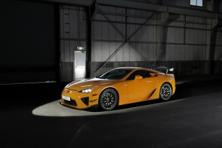 Lexus LFA Background for Android, iPhone and iPad