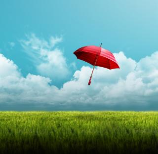 Umbrella On Horizon - Obrázkek zdarma pro 2048x2048