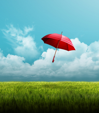 Umbrella On Horizon - Obrázkek zdarma pro 240x432