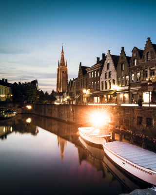 Belgium, West Flanders, Bruges - Obrázkek zdarma pro iPhone 5
