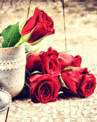 Valentines Day Roses - Obrázkek zdarma pro Nokia Asha 203