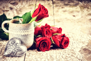 Valentines Day Roses Wallpaper for Android, iPhone and iPad