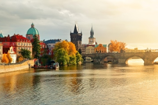 Charles Bridge Background for Android, iPhone and iPad