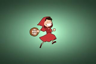 Red Riding Hood - Obrázkek zdarma pro LG P500 Optimus One