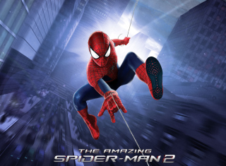 Amazing Spiderman 2 - Obrázkek zdarma pro Motorola DROID