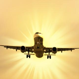 Airplane Takeoff - Obrázkek zdarma pro iPad