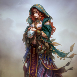 Gypsy Witchcraft in Romani mythology - Obrázkek zdarma pro iPad mini