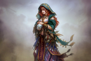 Gypsy Witchcraft in Romani mythology - Obrázkek zdarma pro Widescreen Desktop PC 1920x1080 Full HD