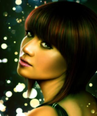 Lady Face - Obrázkek zdarma pro 750x1334