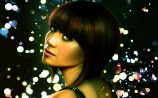Lady Face - Obrázkek zdarma pro 1366x768