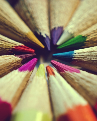 Bright Colors Of Pencils - Obrázkek zdarma pro iPhone 6