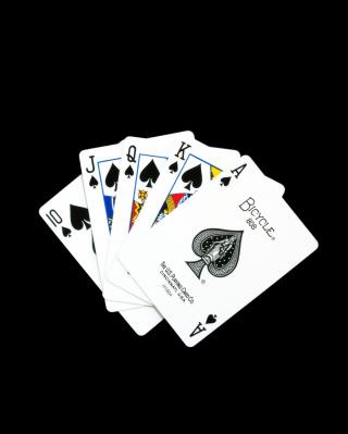 Royal Flush - Obrázkek zdarma pro 320x480