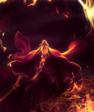Bleach Shigekuni Genryuusai Yamamoto - Obrázkek zdarma pro 320x480