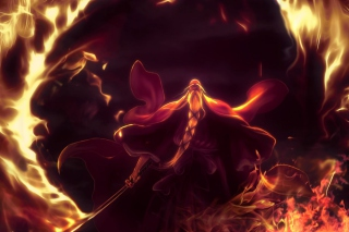 Bleach Shigekuni Genryuusai Yamamoto - Obrázkek zdarma pro HTC Desire HD