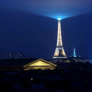 Paris Night - Obrázkek zdarma pro 1024x1024