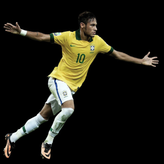 Neymar Brazil Football Player - Obrázkek zdarma pro 2048x2048