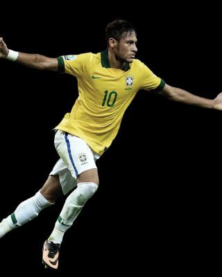 Neymar Brazil Football Player - Obrázkek zdarma pro Nokia 300 Asha