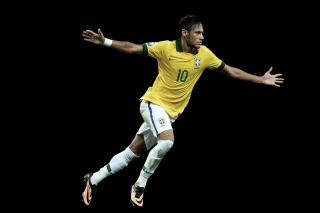Neymar Brazil Football Player - Obrázkek zdarma pro Widescreen Desktop PC 1920x1080 Full HD