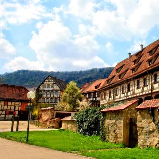 Blaubeuren, Germany, Baden Wurttemberg - Obrázkek zdarma pro iPad Air