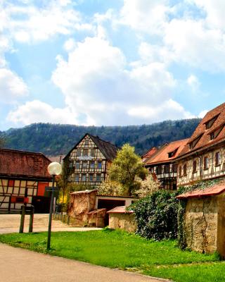 Blaubeuren, Germany, Baden Wurttemberg - Obrázkek zdarma pro 480x640