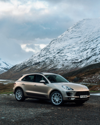 Porsche Macan - Obrázkek zdarma pro 360x400