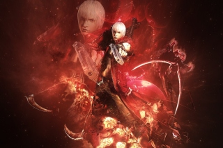 Devil may cry 3 - Obrázkek zdarma pro HTC Desire HD