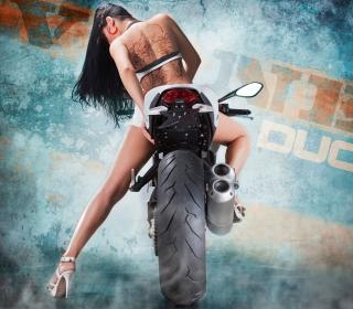 Vilner Ducati Monster 1100 Evo - Obrázkek zdarma pro iPad mini 2