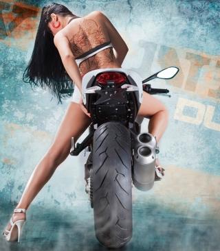 Vilner Ducati Monster 1100 Evo - Obrázkek zdarma pro 480x800