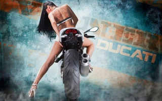 Vilner Ducati Monster 1100 Evo - Obrázkek zdarma pro 1024x600