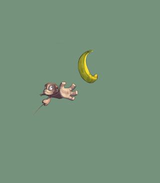 Monkey Wants Banana - Obrázkek zdarma pro iPhone 5S