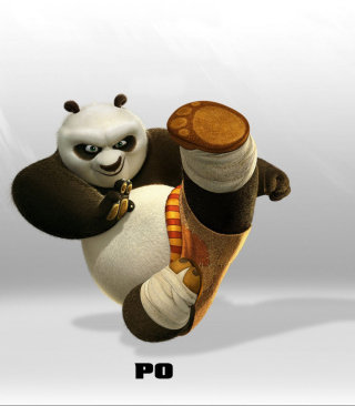 Kung Fu Panda - Obrázkek zdarma pro Nokia 206 Asha