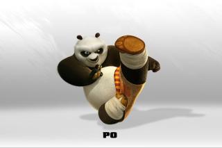 Kung Fu Panda - Obrázkek zdarma pro Nokia XL
