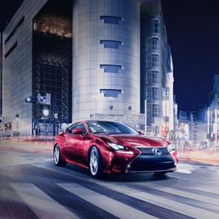 Lexus RC Coupe - Obrázkek zdarma pro 1024x1024