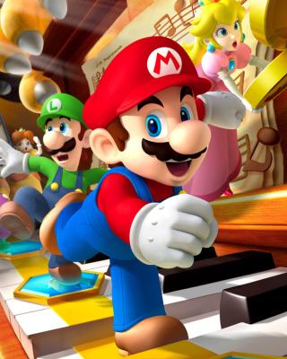 Mario Party - Super Mario - Obrázkek zdarma pro 320x480