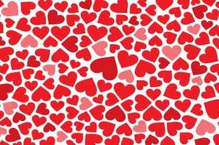 Red Hearts Background for Android, iPhone and iPad