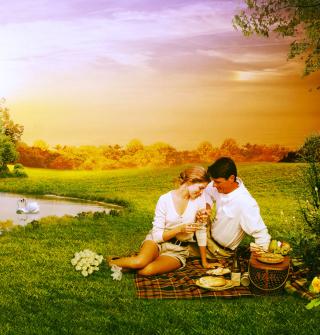 Love Art Couples - Obrázkek zdarma pro 208x208