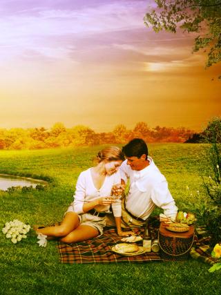 Love Art Couples - Obrázkek zdarma pro 352x416