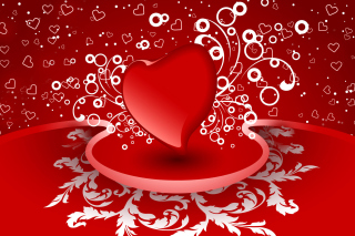 Free Heart Decor Picture for Nokia Asha 200