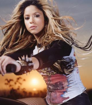 Shakira Rocks - Obrázkek zdarma pro Nokia Asha 308