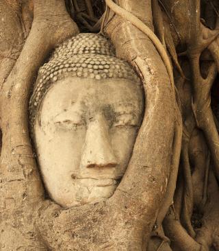 Wooden Buddha In Thailand - Obrázkek zdarma pro Nokia X2-02