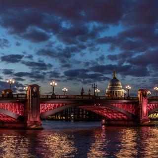 Westminster Bridge in UK - Obrázkek zdarma pro 128x128