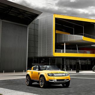 Convertible Land Rover Defender DC100 Sport - Obrázkek zdarma pro 1024x1024
