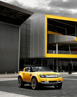 Convertible Land Rover Defender DC100 Sport - Obrázkek zdarma pro Nokia C5-06