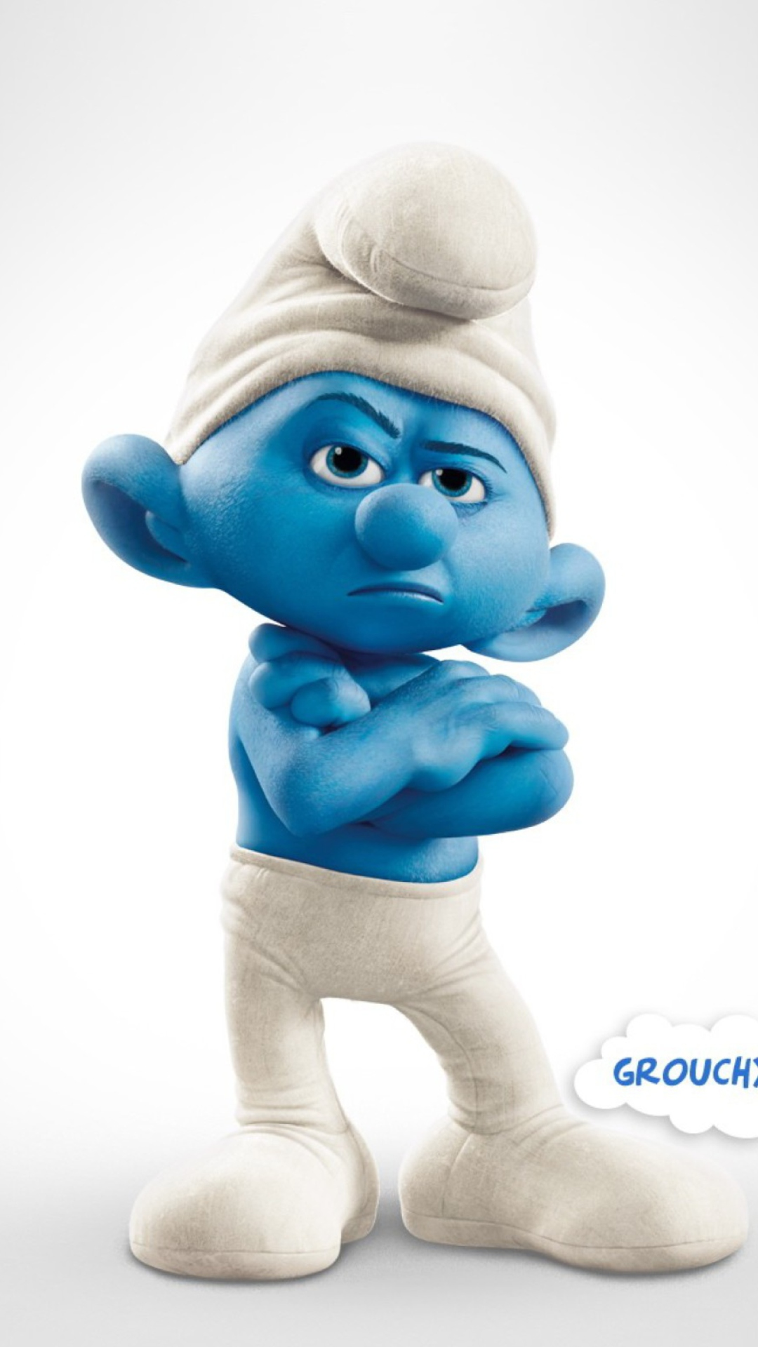 Grouchy Smurf Wallpape...