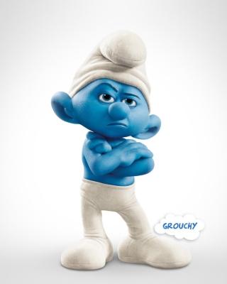 Grouchy Smurf - Obrázkek zdarma pro 640x960