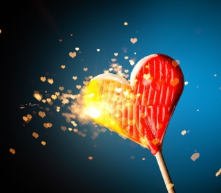 Love Candy - Obrázkek zdarma pro iPad mini